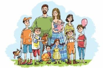 О положенных льготах для многодетных семей